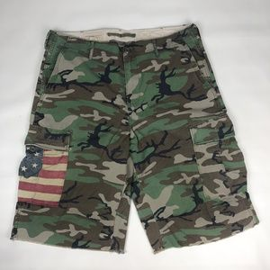 MEN'S DENIM & SUPPLY RALPH LAUREN FATIGUE SHORTS
